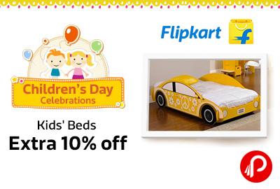 Extra 10% off on Kids Beds | Children's Day Celebrations - Flipkart