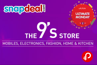 The 9' Store | Mobiles, Electronics, Fashion, Home & Kitchen Products - Snapdeal