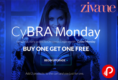 Buy 1 Get 1 Free on Bra | Cyber Monday Sale - Zivame