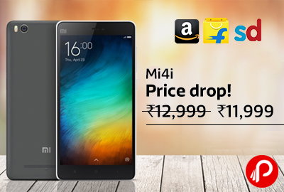 Get Mi4i 16GB Mobile only in Rs.11,999 | Price Drop