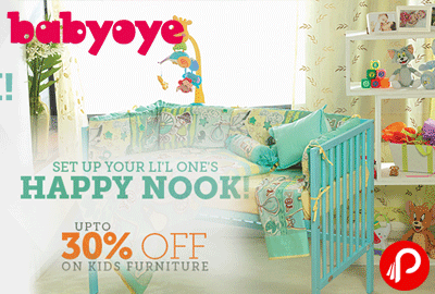 Get UPTO 30% off on Kids Furniture | Happy Nook - Babyoye