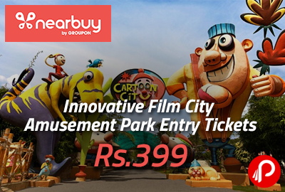 Innovative Film City Amusement Park Entry Tickets Rs.399 - Nearbuy