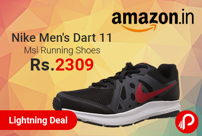 Nike Men's Dart 11 Msl Running Shoes at Rs.2309