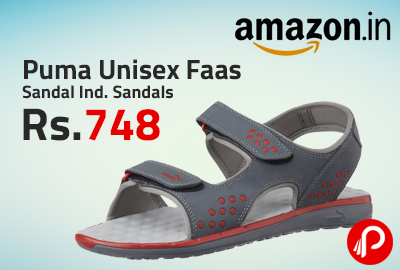 Puma Unisex Faas Sandal Ind. Sandals Only in Rs.748 - Amazon