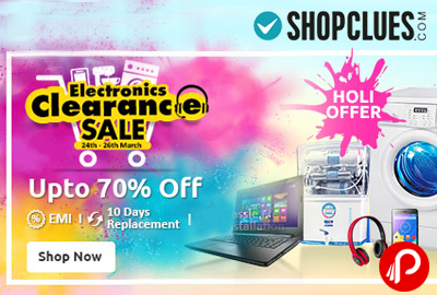 Electronic & Gadgets Upto 70% off   Electronic Clearance Sale - Shopclues