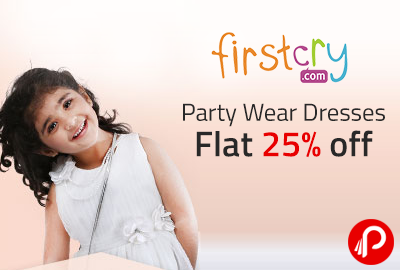 Party Wear Dresses Flat 25% off - Firstcry