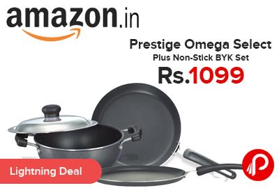 Prestige Omega Select Plus Non-Stick BYK Set Just Rs.1099 - Amazon