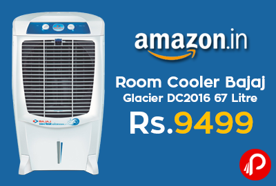 Room Cooler Bajaj Glacier DC2016 67 Litre at Rs.9499 - Amazon