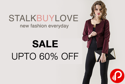 Upto 60% off on Selected Collections - StalkBuyLove