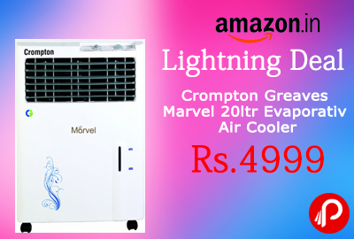 Cooler Crompton Greaves Marvel 20-Litre Evaporative Air Just at Rs.4999 - Amazon
