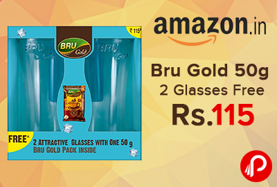 Bru Gold 50g 2 Glasses Free