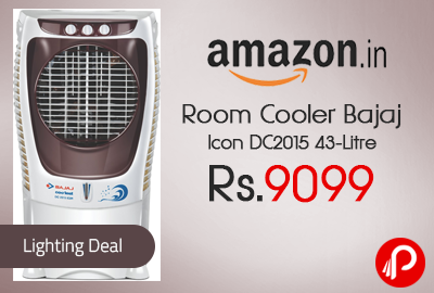 Room Cooler Bajaj Icon DC2015 43-Litre Just at Rs.9099 – Amazon