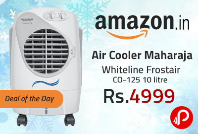 Air Cooler Maharaja Whiteline Frostair CO-125 10 litre Just at Rs.4999 - Amazon
