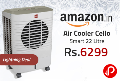 Air Cooler Cello Smart 22 Litre Just at Rs.6299 - Amazon