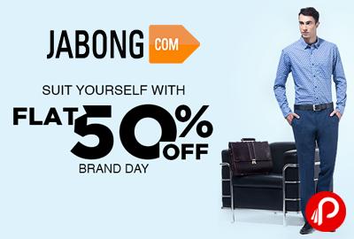 John Players & Wills Lifestyle Flat 50% off | Brand Day - Jabong