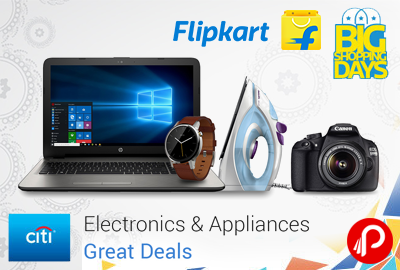 Electronics & Appliance Great Deals | Big Shopping Days - Flipkart