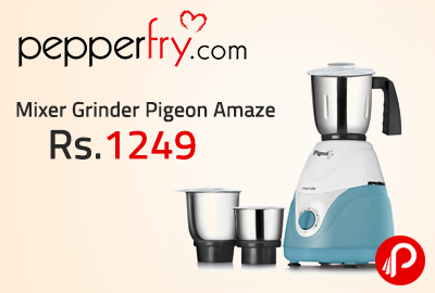 Mixer Grinder Pigeon Amaze Just at Rs.1249 - Pepperfry
