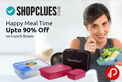 Lunch Boxes Upto 90% off | Happy Meal Time - Shopclues