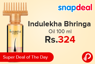 Indulekha Bhringa Oil 100 ml Just at Rs.324 - Snapdeal