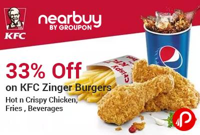 KFC Zinger Burgers