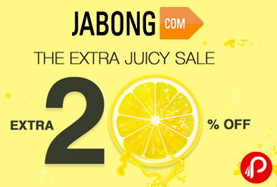 Extra 20% off | The Extra Juicy Sale - Jabong
