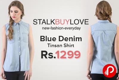 Blue Denim Tinsan Shirt