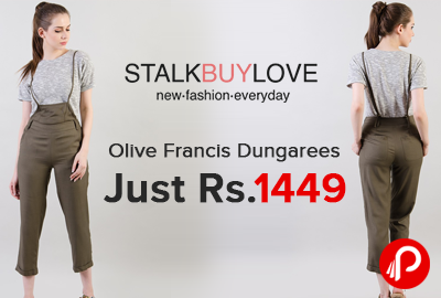 Olive Francis Dungarees