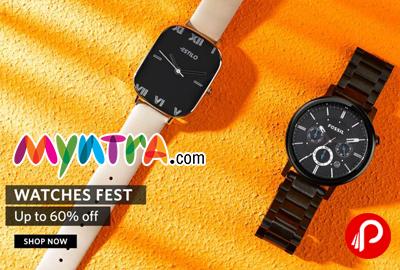 Myntra Watches Fest
