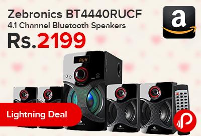 Zebronics BT4440RUCF 4.1 Channel Bluetooth Speakers