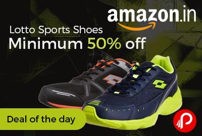 Lotto Sports Shoes Minimum 50% off - Amazon