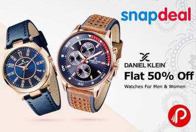 Daniel Klein Watches Men Women Flat 50% off - Snapdeal