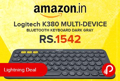 Logitech K380 MULTI-DEVICE BLUETOOTH KEYBOARD Dark gray