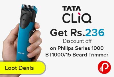 Philips Series 1000 BT1000/15 Beard Trimmer Blue
