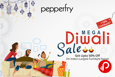 Pepperfry Mega Diwali Sale