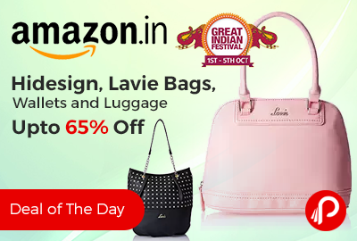 Hidesign, Lavie Bags, Wallets and Luggage