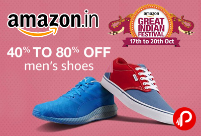 men's shoes 40  80 off  great indian sale  amazon