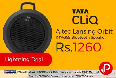 Altec Lansing Orbit IMW355 Bluetooth Speaker