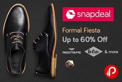 Formal Fiesta Shoes Red Tape, Lee