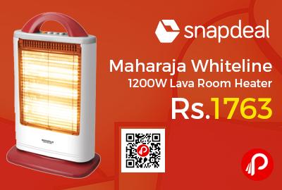 Maharaja Whiteline 1200W Lava Room Heater