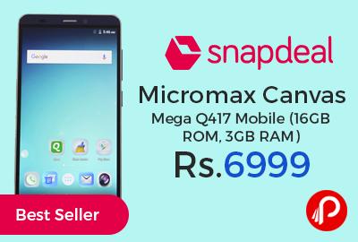 Micromax Canvas Mega Q417 Mobile