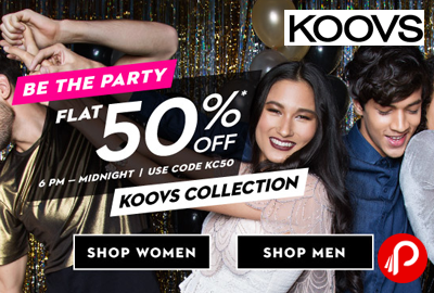 Koovs Be The Party Sale