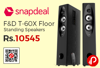 F&D T-60X Floor Standing Speakers