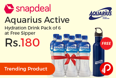Aquarius Active Hydration Drink 400ml