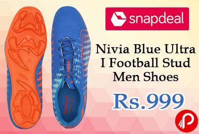 Nivia Blue Ultra I Football Stud Men Shoes