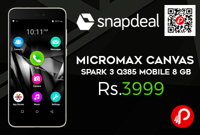 Micromax Canvas Spark 3 Q385 Mobile