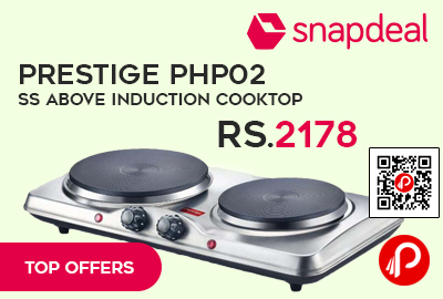 Prestige PHP02 SS Above Induction Cooktop