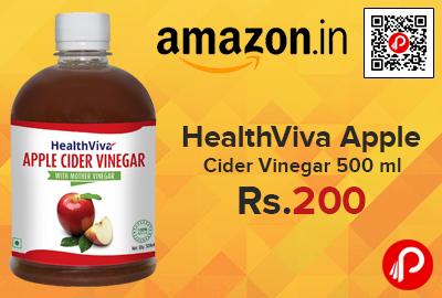 HealthViva Apple Cider Vinegar 500 ml
