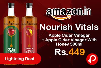 Nourish Vitals Apple Cider Vinegar