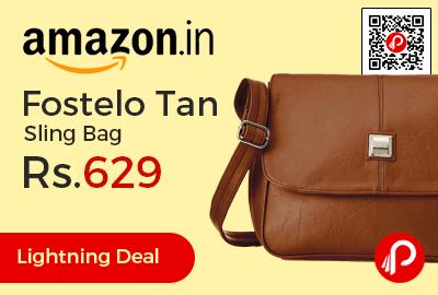 Fostelo Tan Sling Bag
