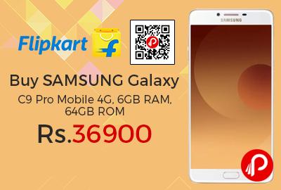 Buy SAMSUNG Galaxy C9 Pro Mobile